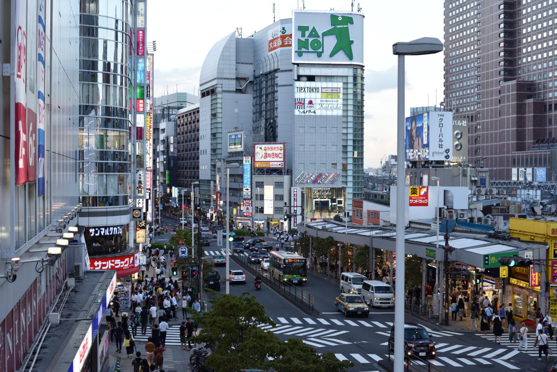 Dzielnica Shinjuku – centrum biznesowe, administracyjne i rozrywkowe Tokio