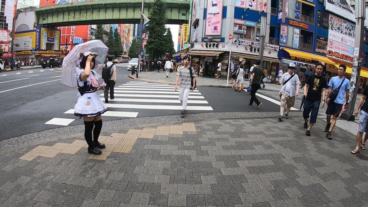 Pół dnia na Akihabarze w Tokio