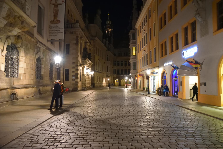 Wieczorny spacer po Dreźnie