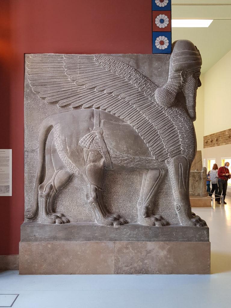 Płaskorzeźba babilońska w Muzeum Pergamońskim