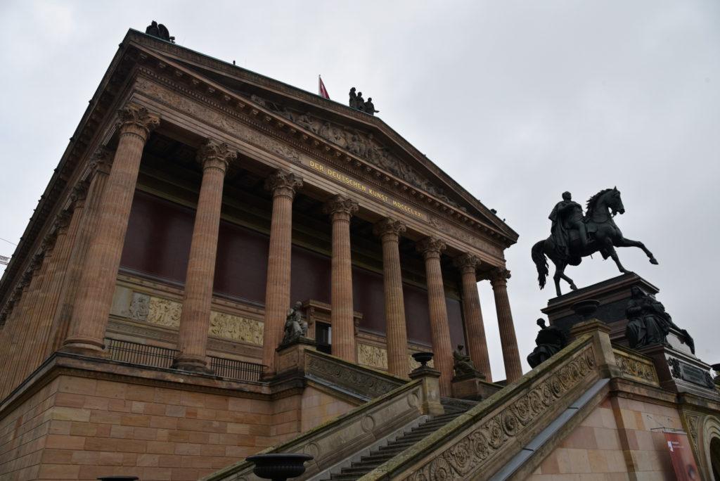Wyspa Muzeów w Berlinie - budynek Starej Galerii Narodowej