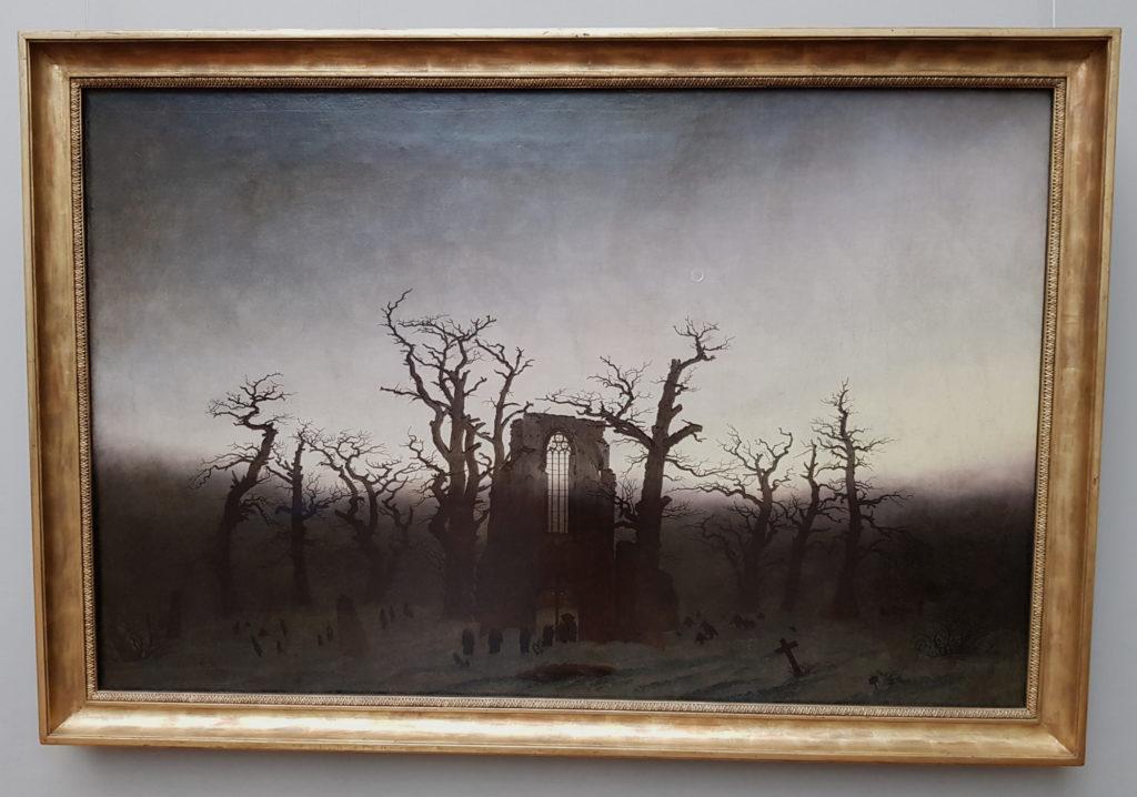 Wyspa Muzeów w Berlinie - Stara Galeria Narodowa - Abtei im Eichwald - Caspar David Friedrich