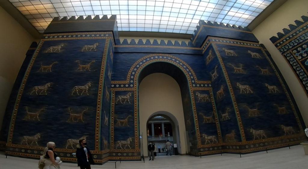 Wyspa Muzeów w Berlinie - Muzeum Pergamońskie - rekonstrukcja Bramy Isztar