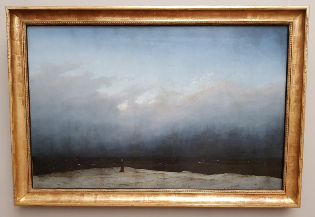 Wyspa Muzeów w Berlinie - Stara Galeria Narodowa - Der Mönch am Meer - Caspar David Friedrich
