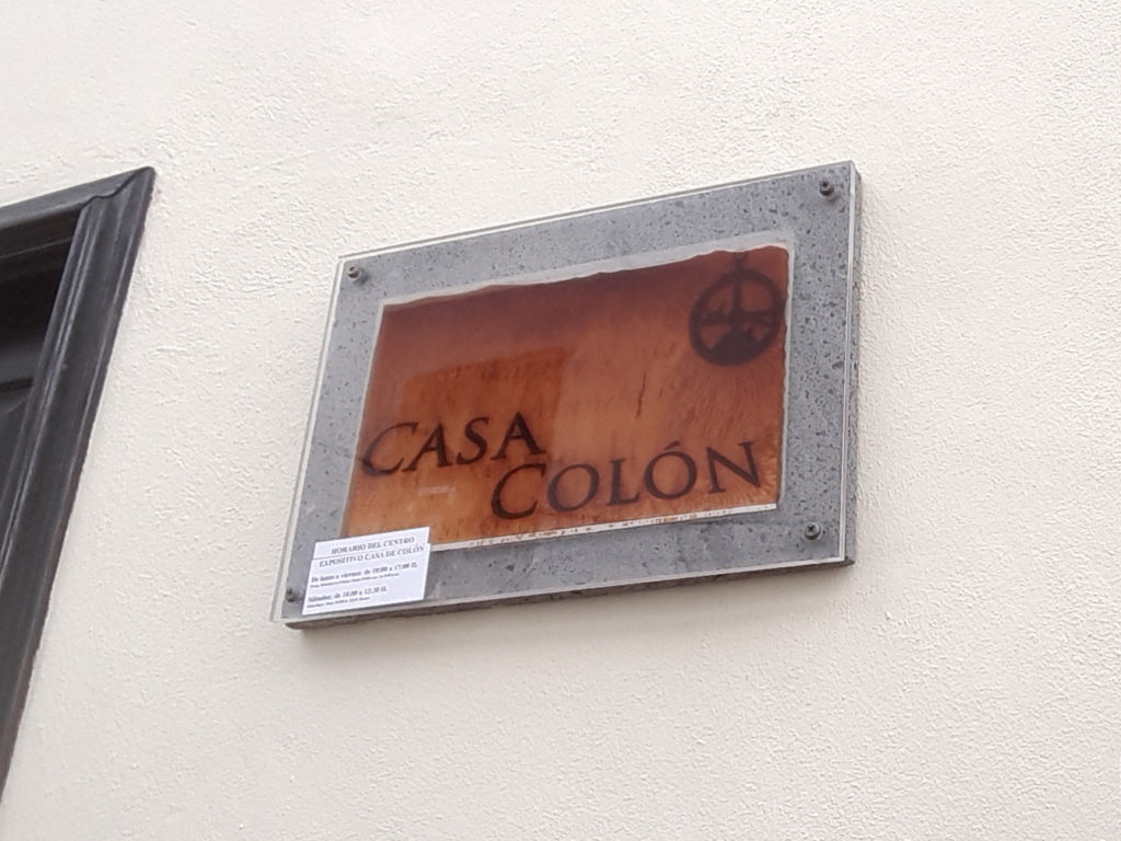 Tablica na domu Krzysztofa Kolumba
