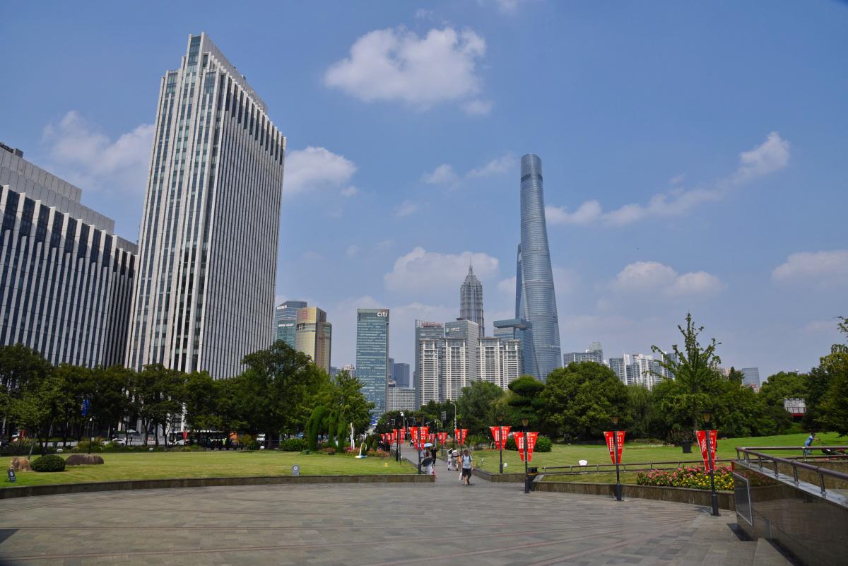 Shanghai Tower – skręcona szklana wieża