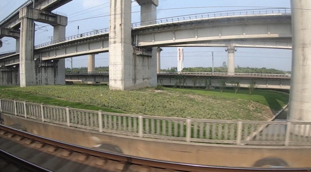 Pociągiem z Szanghaju do Pekinu - wiadukty