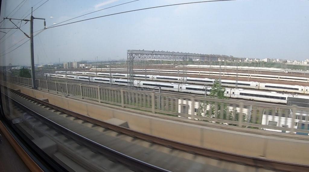 Pociągiem z Szanghaju do Pekinu - bliźniacze składy superszybkich pociągów