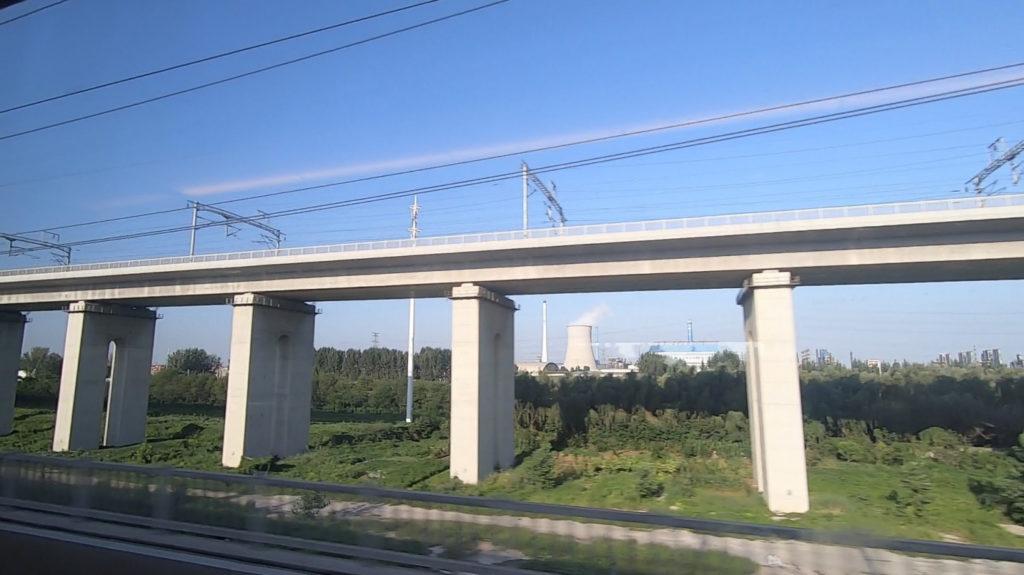 Pociągiem z Szanghaju do Pekinu - zakład przemysłowy