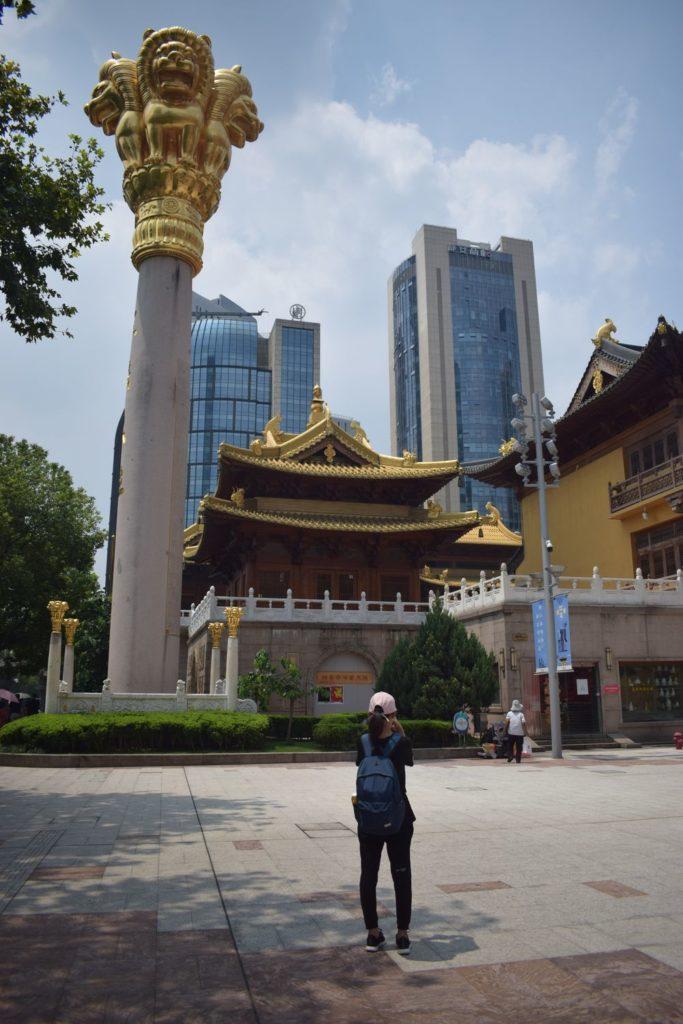 świątynia Jing'an robi wrażenie nawet z zewnątrz! Świątynie Szanghaju