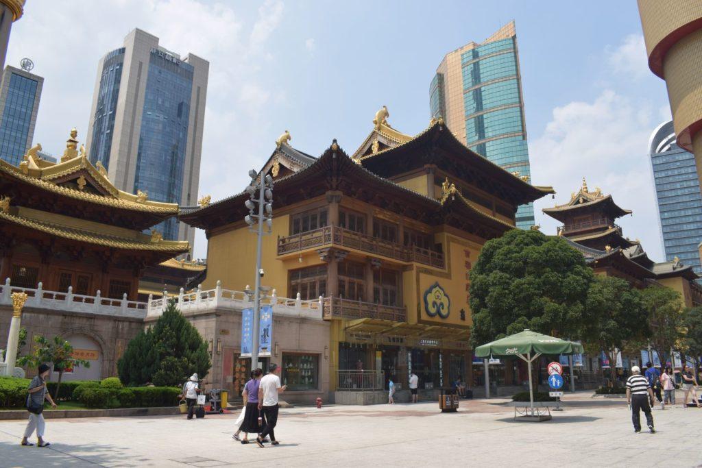 świątynia Jing'an robi wrażenie nawet z zewnątrz!. Świątynie Szanghaju