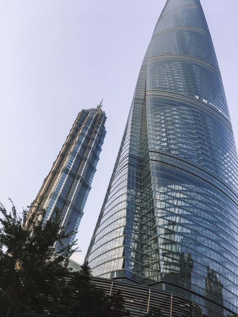 chiny Szanghaj, Pudong, dzielnica biznesowa
