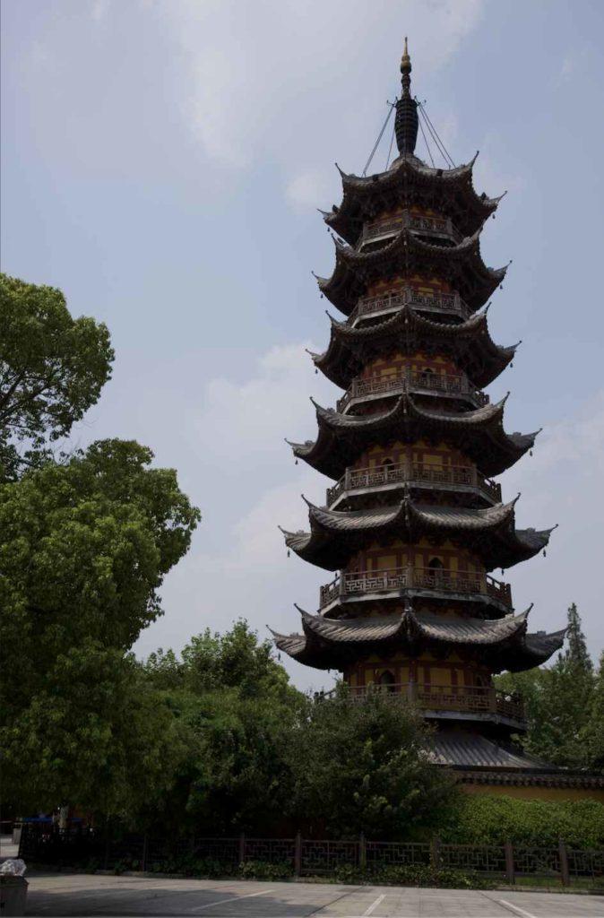 szanghaj chiny longhua temple