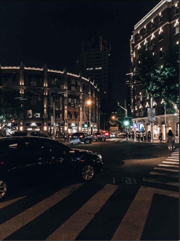 nowoczesna ulica Nanjing Lu