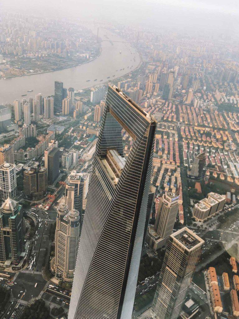 """""""otwieracz do butelek"""" czyli Szanghaj World Financial Center"""