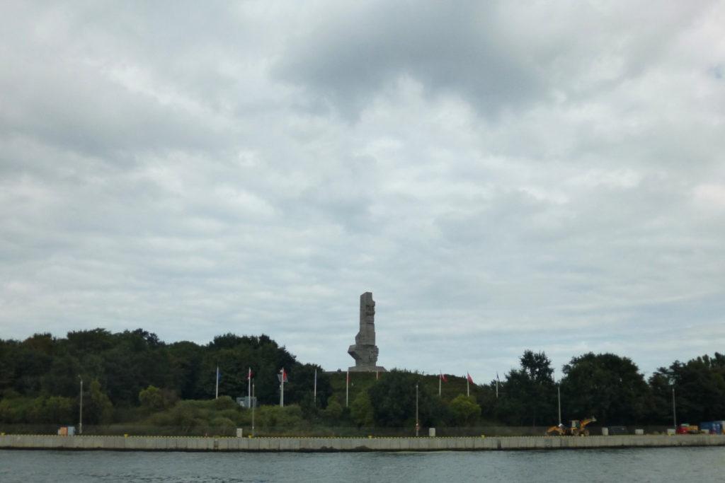 Bałtyk - rejs stażowy - Pomnik Obrońców Wybrzeża na Westerplatte w Gdańsku