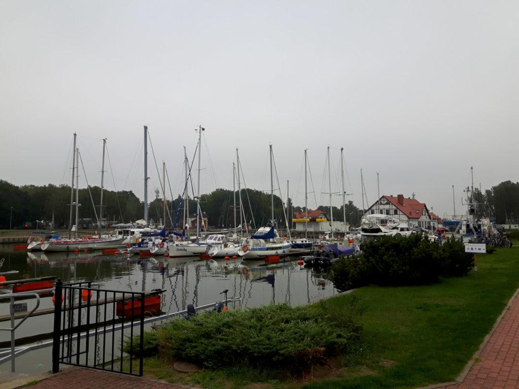 Marina w Łebie