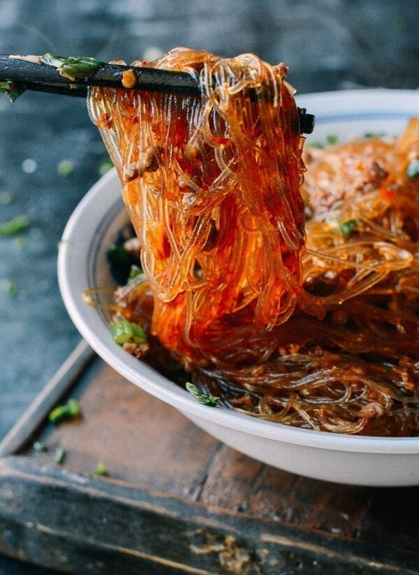 kuchnia chińska - makaron mayi shangshu