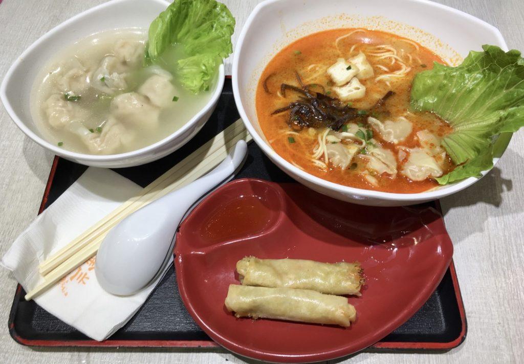 Gdzie zjeść w Szanghaju- niewielka knajpka serwująca zupy i szybkie przekąski