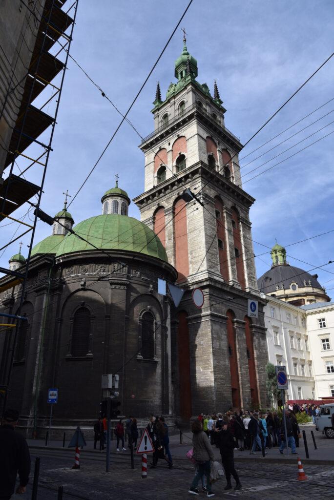 Cerkiew Wołoska we Lwowie, wieża Korniakta
