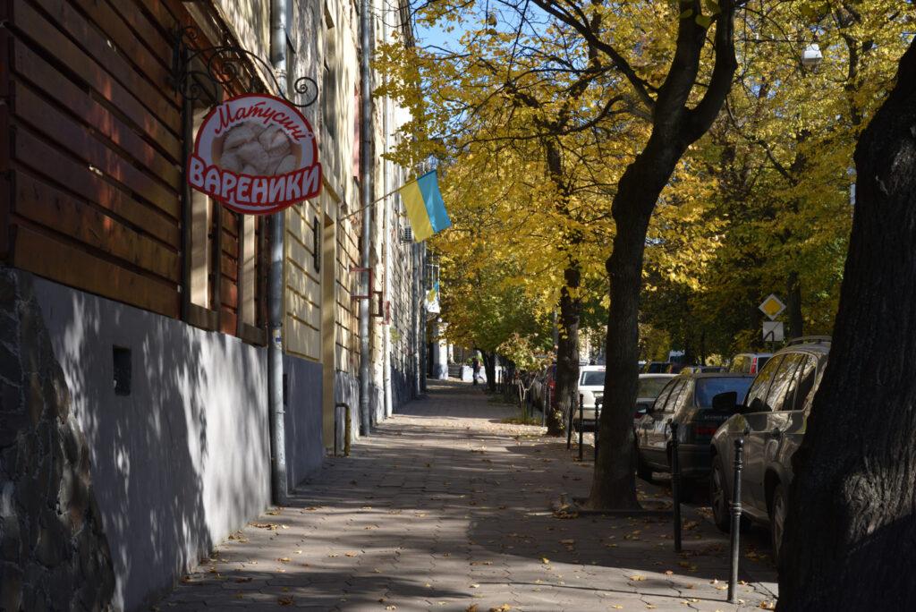 City break we Lwowie - złota jesień