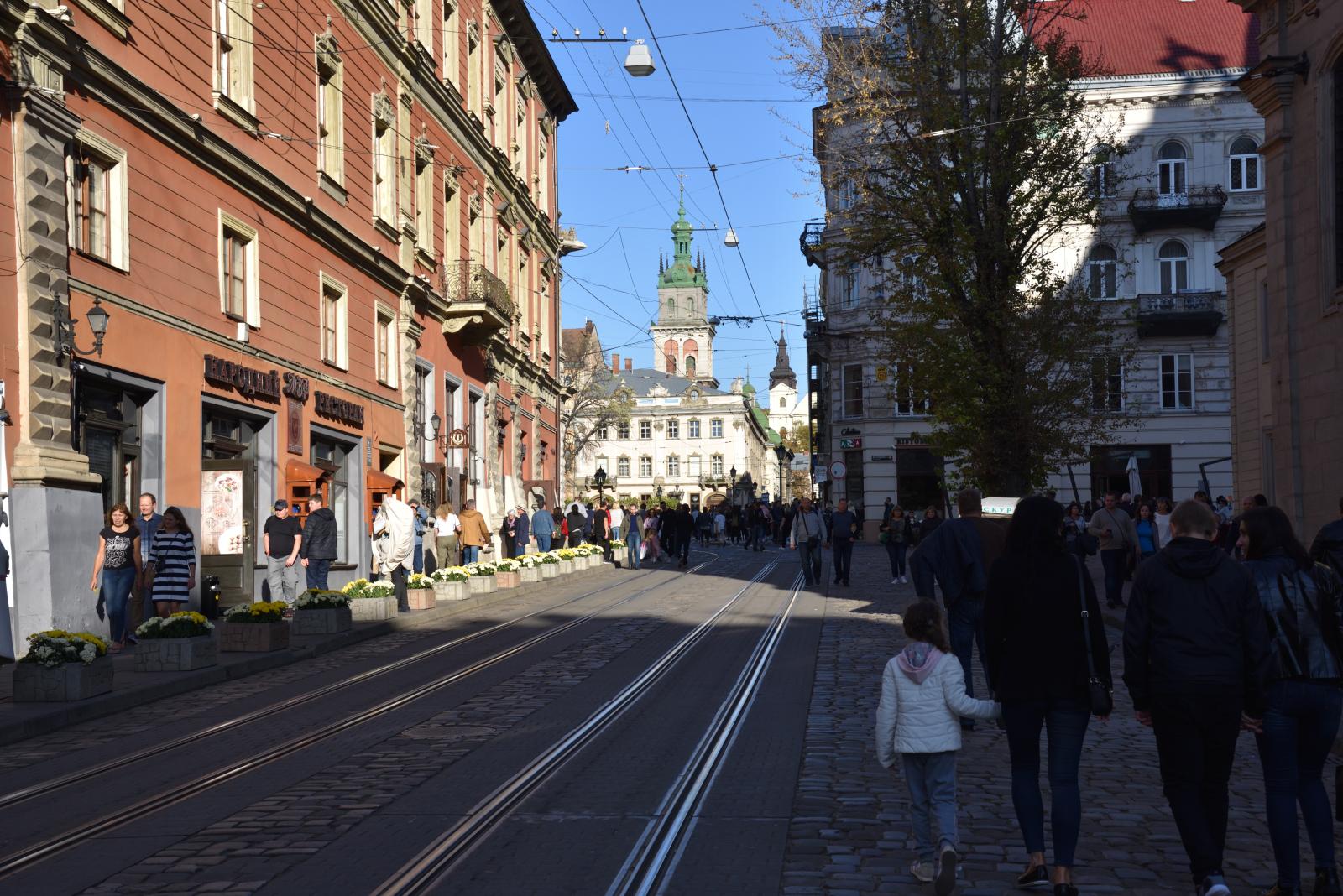 Stare miasto we Lwowie